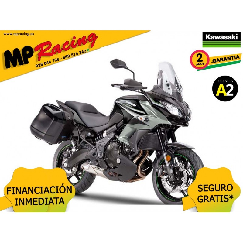 KAWASAKI VERSYS 650 TOURER 2019 GRIS MP
