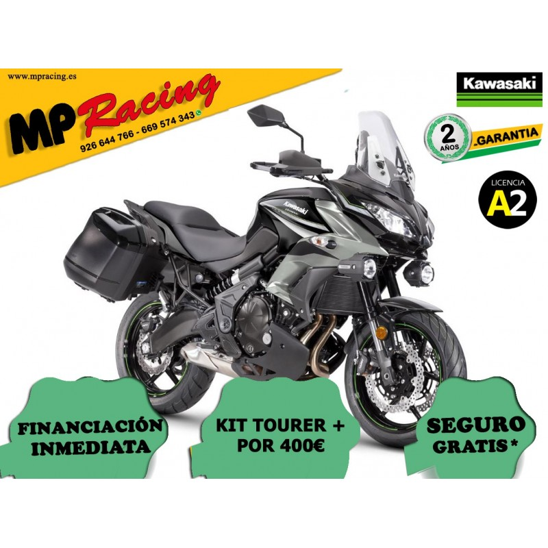 KAWASAKI VERSYS 650 TOURER+ 2019 GRIS MP