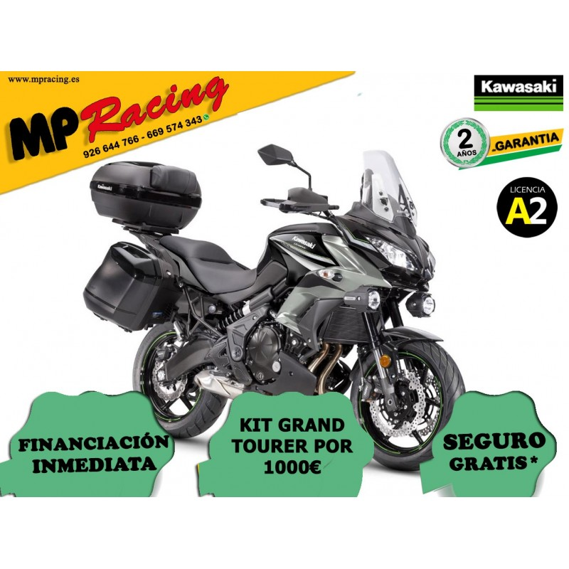 KAWASAKI VERSYS 650 GRAND TOURER 2019 GRIS MP