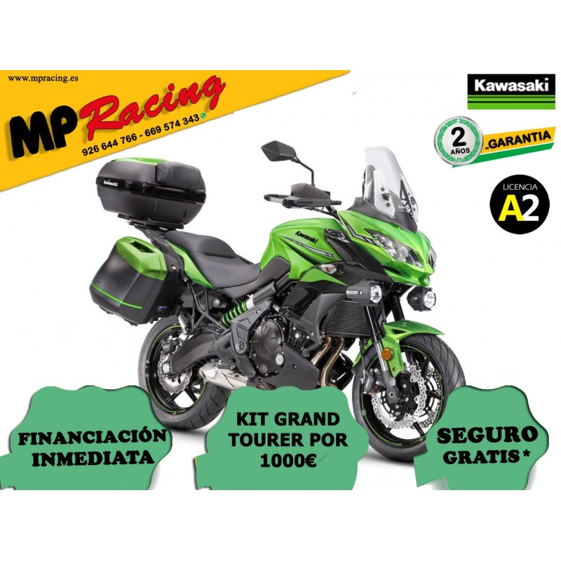 KAWASAKI VERSYS 650 GRAND TOURER 2019 VERDE MP