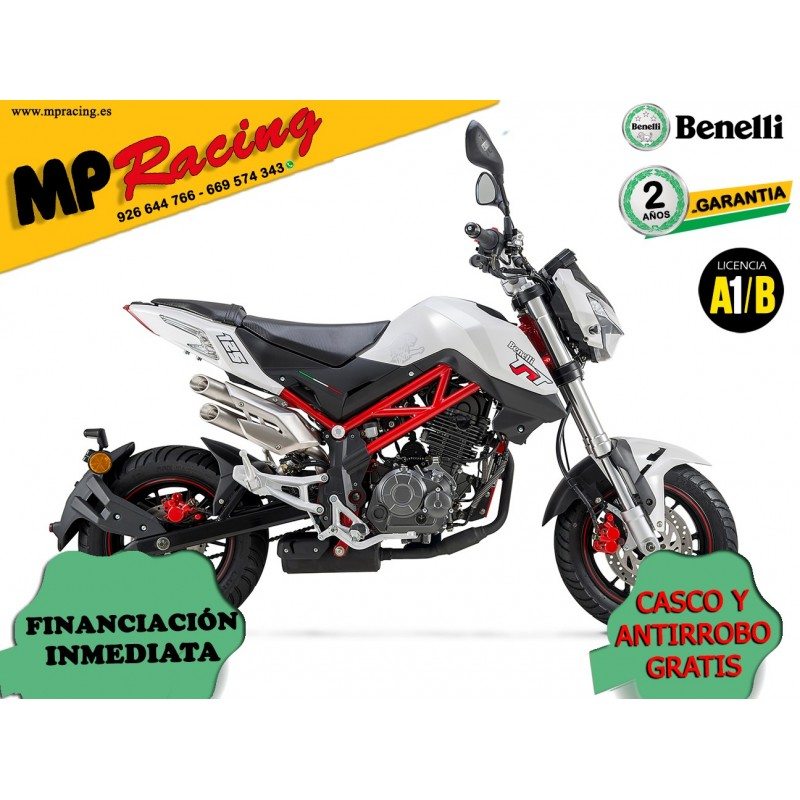 BENELLI TORNADO NAKED T 125 BLANCO MP