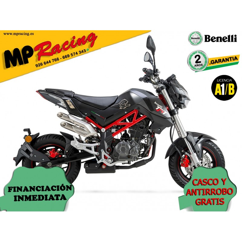 BENELLI TORNADO NAKED T 125 NEGRO MP