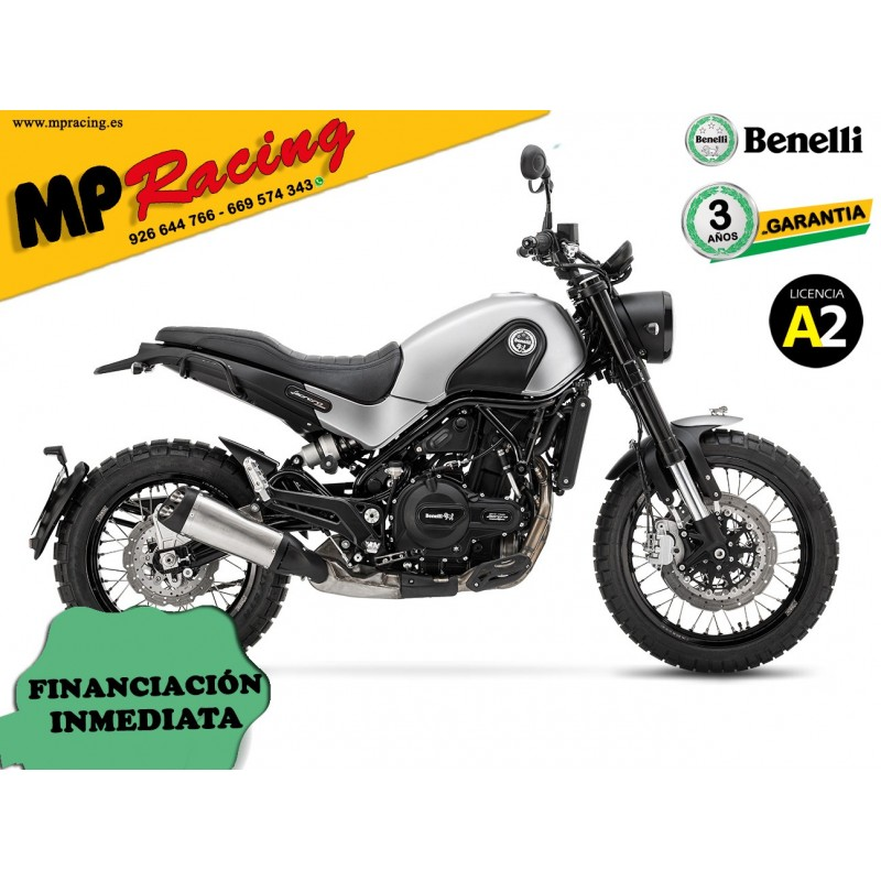 BENELLI LEONCINO 500 ABS TRAIL GRIS MP