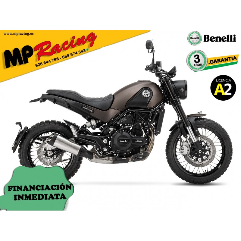 BENELLI LEONCINO 500 ABS TRAIL MARRON MP
