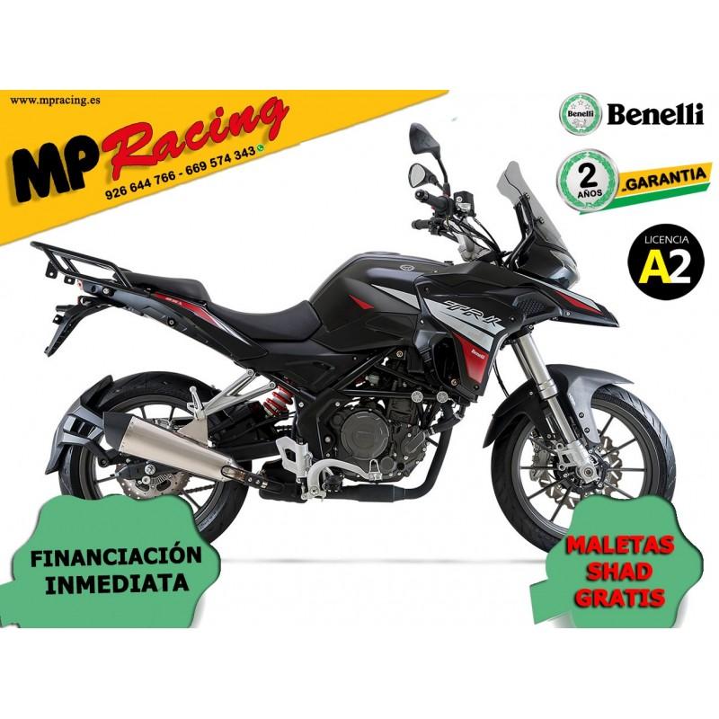 MOTO BENELLI TRK 251 NEGRA MP