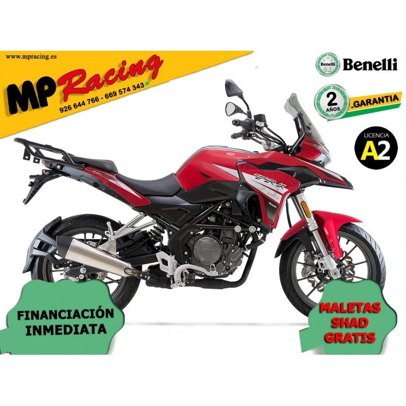 MOTO BENELLI TRK 251 ROJA MP