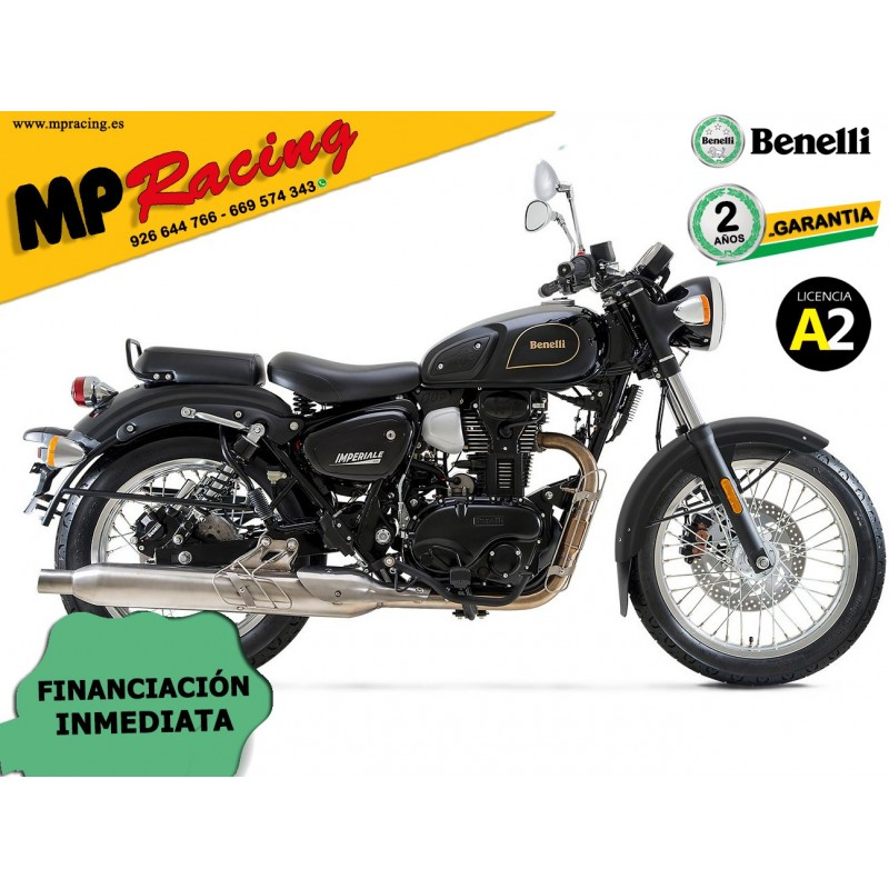 BENELLI IMPERIALE 400 NEGRA MP