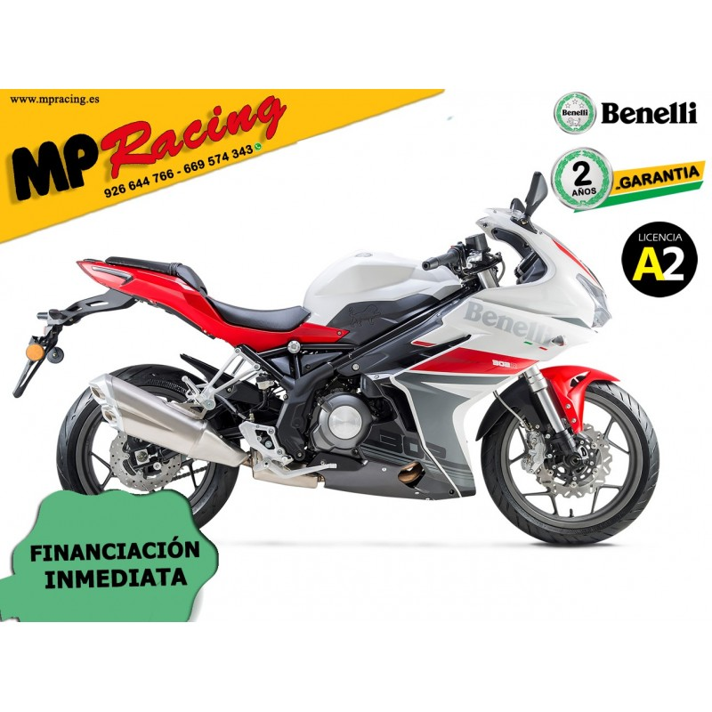 BENELLI 302 R ABS ROJA MP