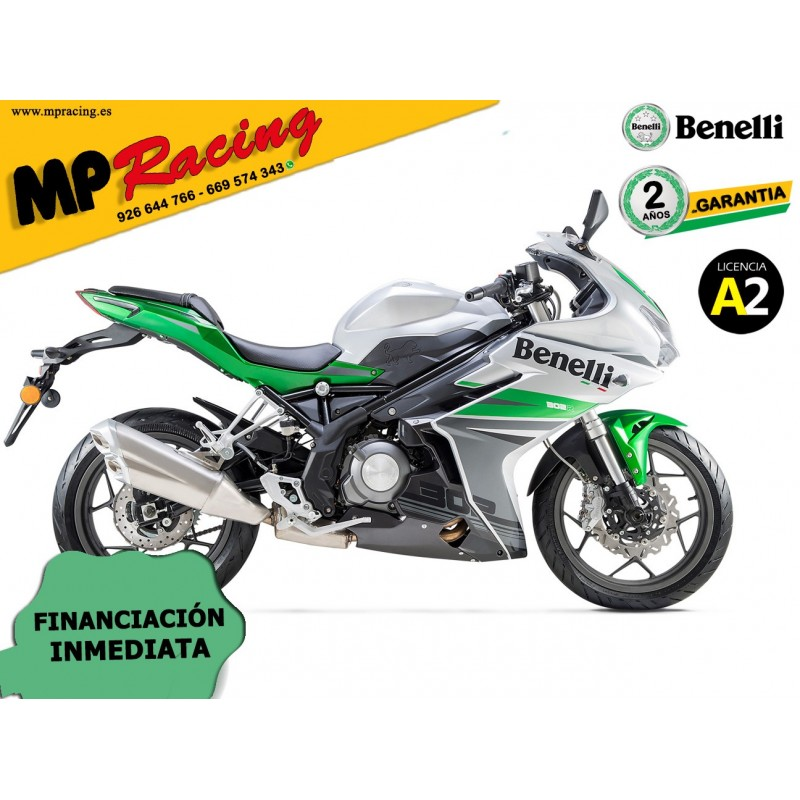BENELLI 302 R ABS VERDE MP