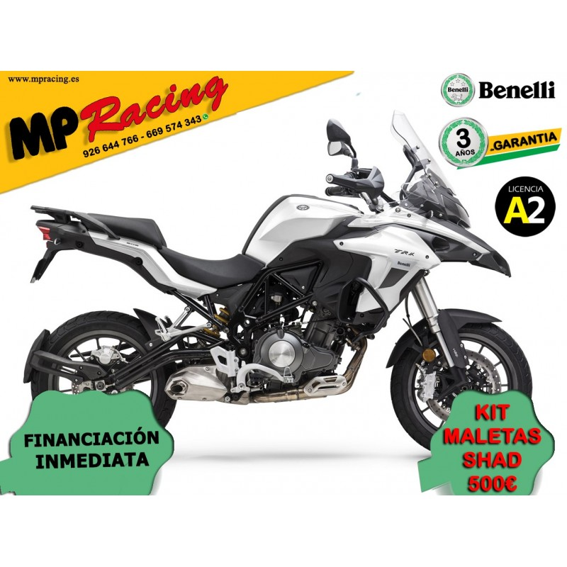 BENELLI TRK502 BLANCA OPCION MALETAS MP