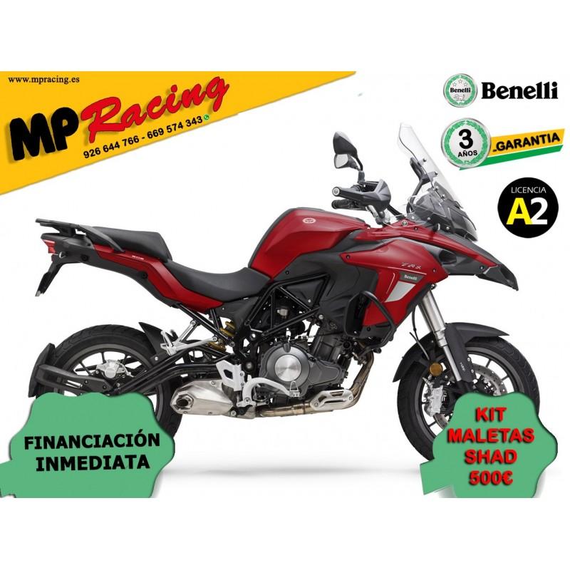 BENELLI TRK502 ROJA OPCION MALETAS MP
