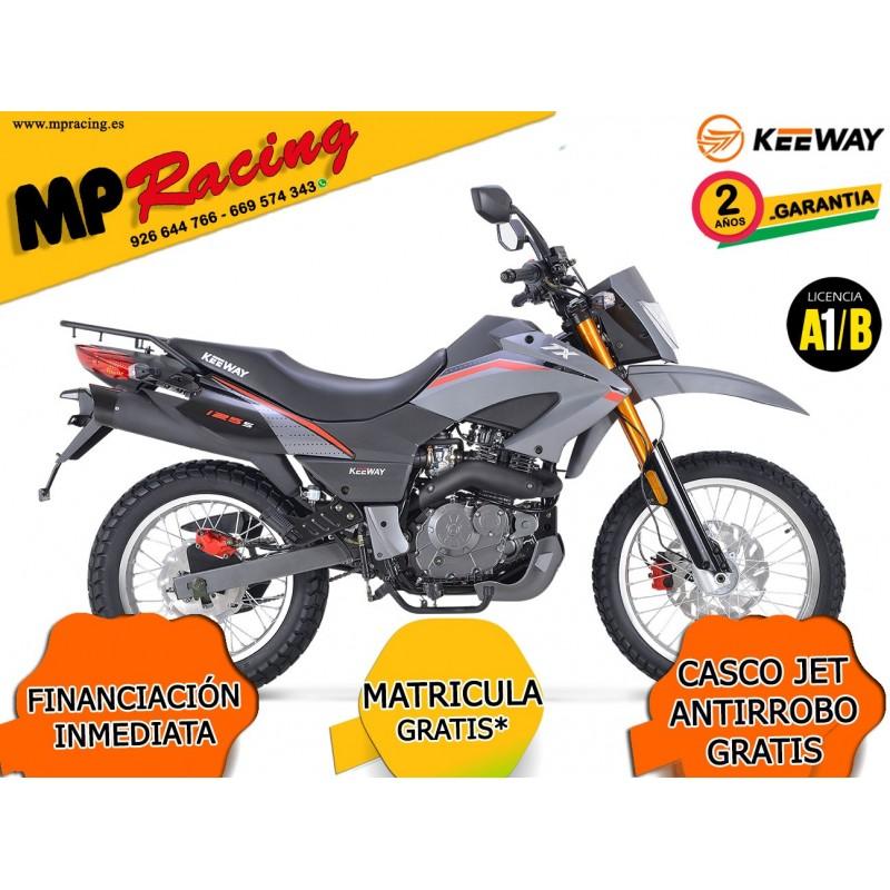 MOTO KEEWAY TXT 125 GRIS MP