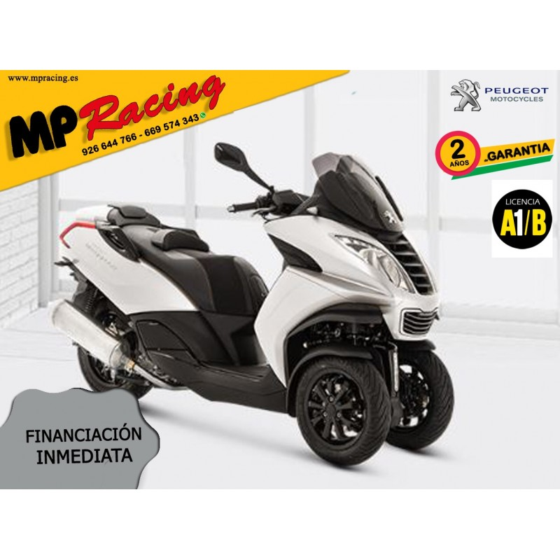 MOTO PEUGEOT METROPOLIS ACCESS BLANCO MP