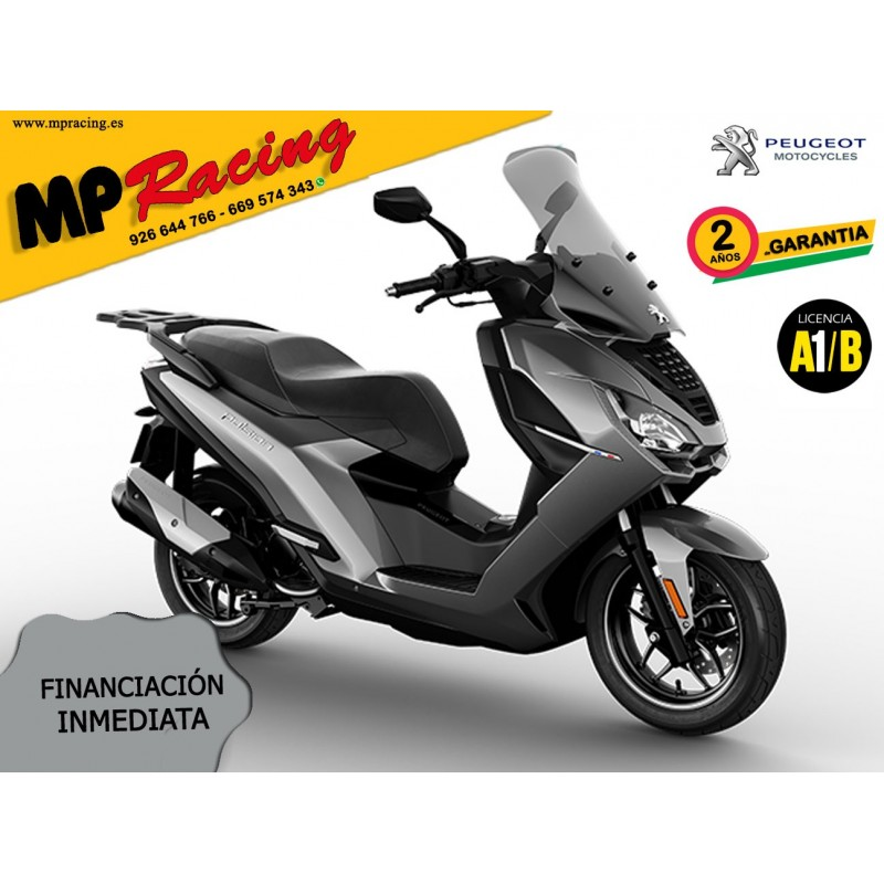 MOTO PEUGEOT PULSION ALLURE GRIS MP