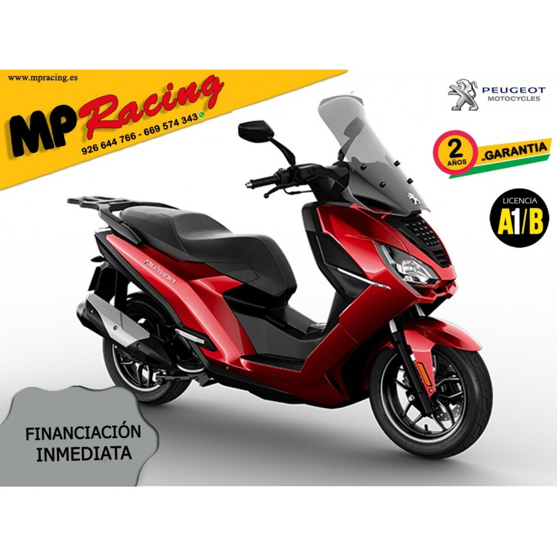 MOTO PEUGEOT PULSION ALLURE ROJA MP