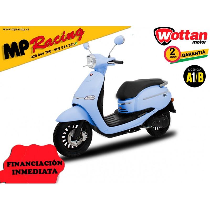 MOTO WOTTAN MOTOR BOT 125 CC AZUL CELESTE MP