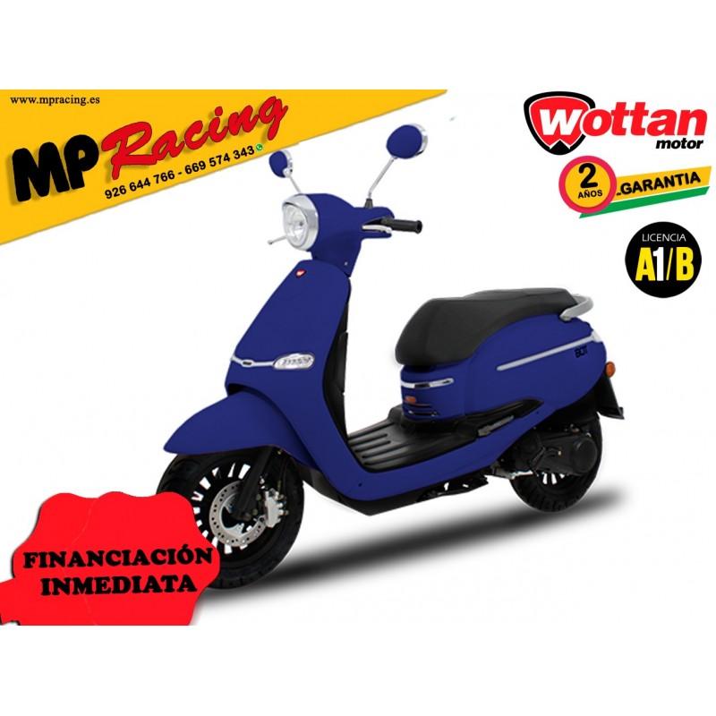 MOTO WOTTAN MOTOR BOT 125 CC AZUL OSCURO MP