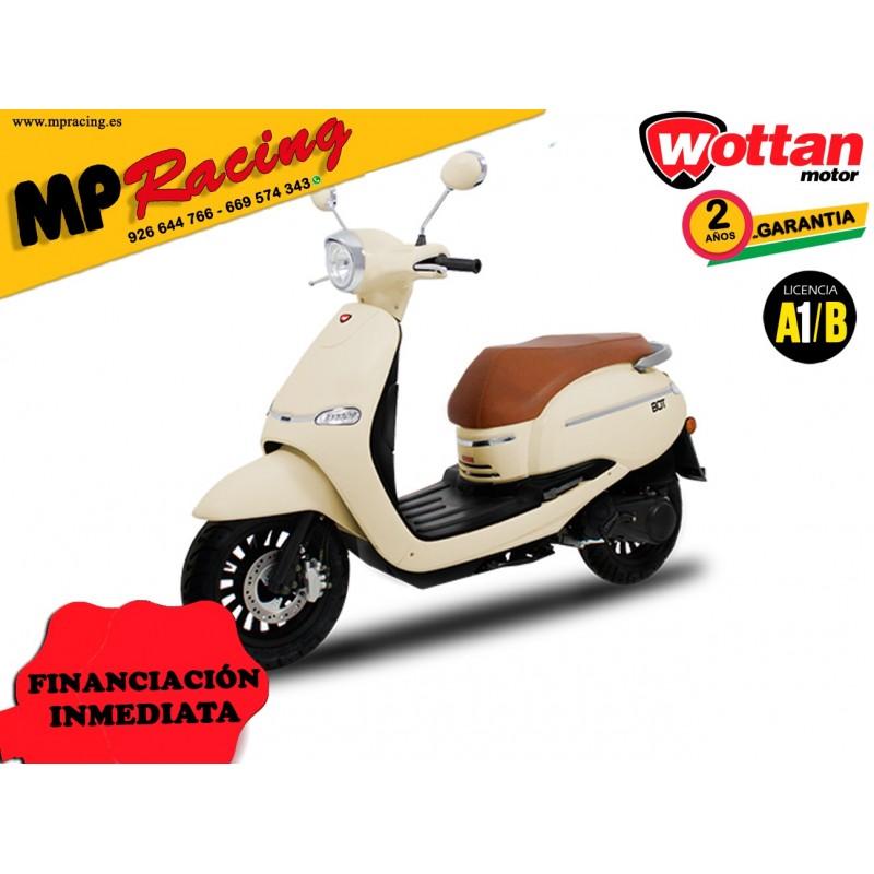 MOTO WOTTAN MOTOR BOT 125 CC BEIGE MP