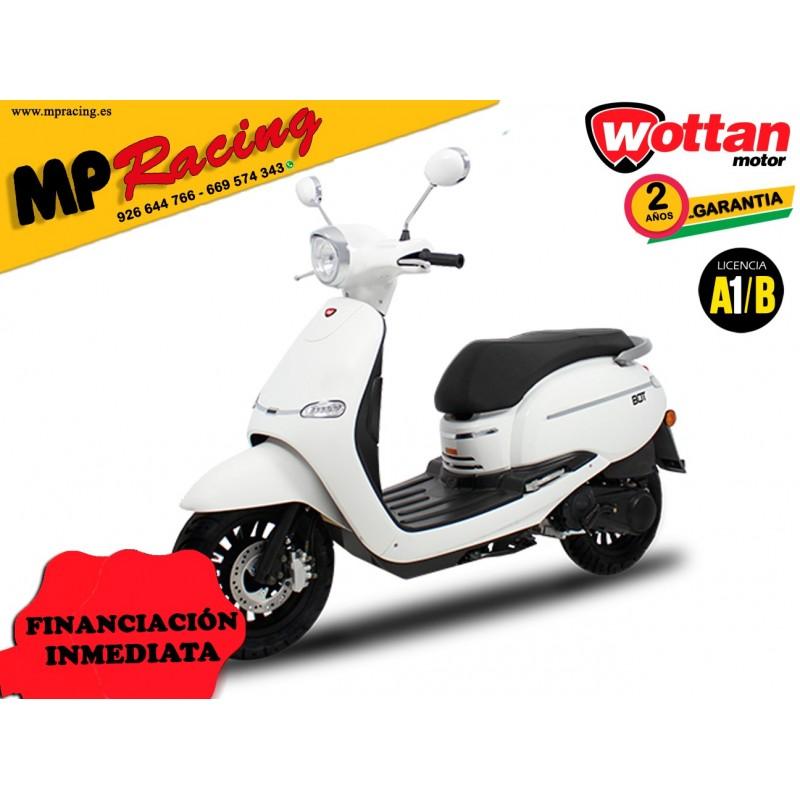 MOTO WOTTAN MOTOR BOT 125 CC BLANCO MP