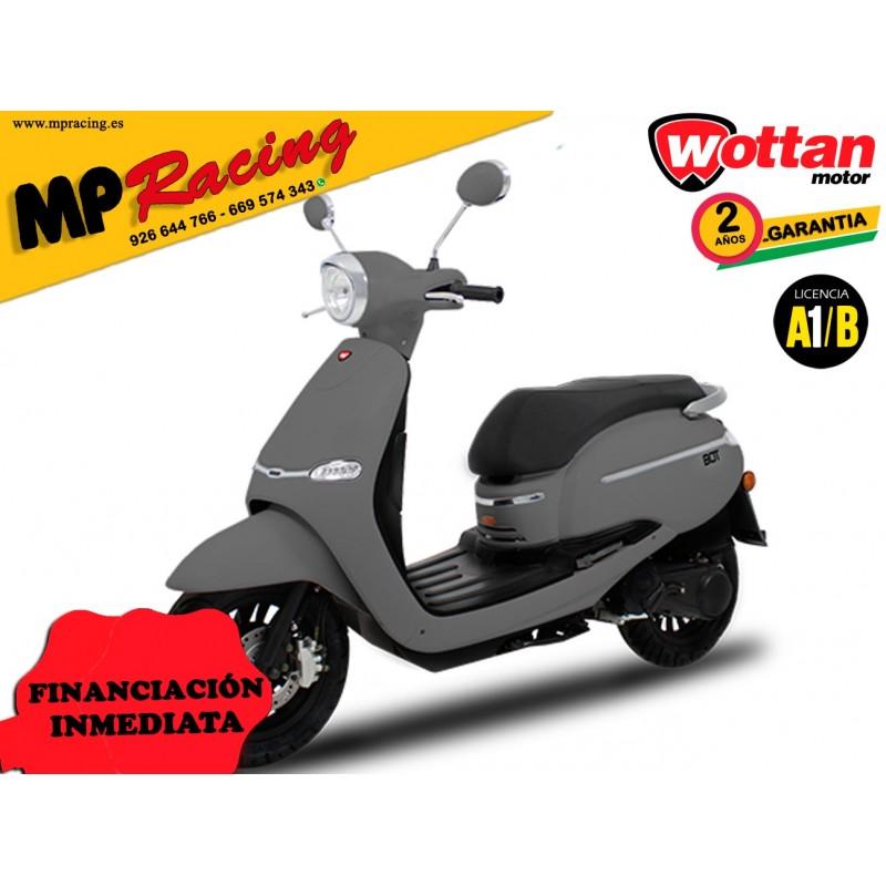 MOTO WOTTAN MOTOR BOT 125 CC GRIS MP