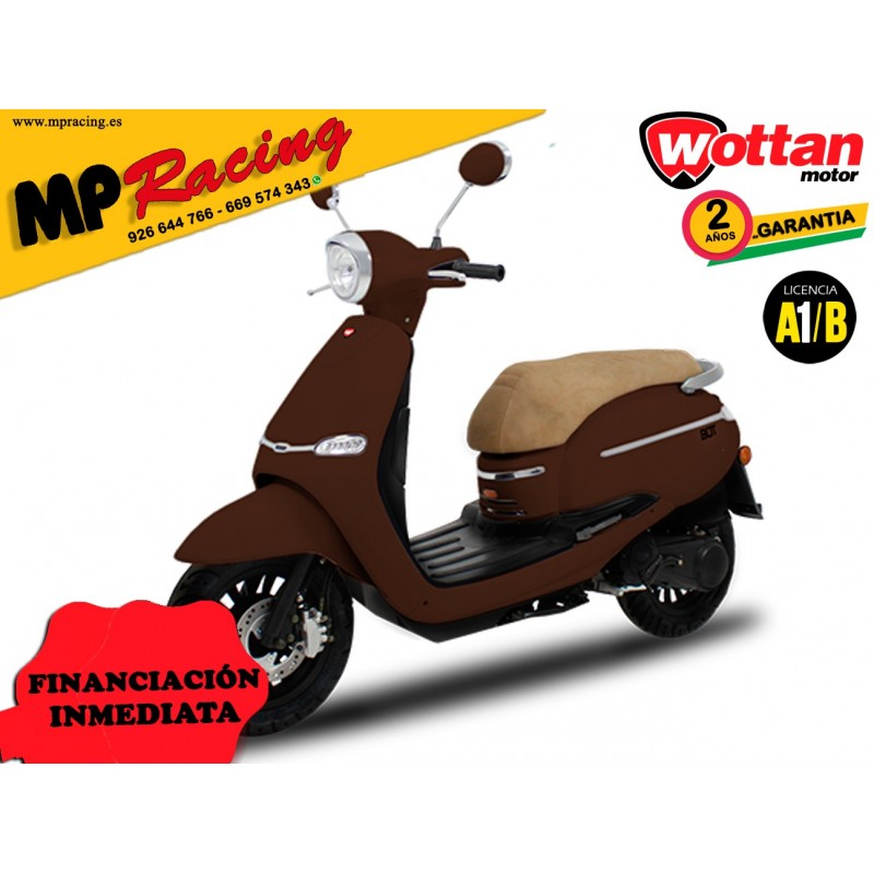 MOTO WOTTAN MOTOR BOT 125 CC MARRON MP