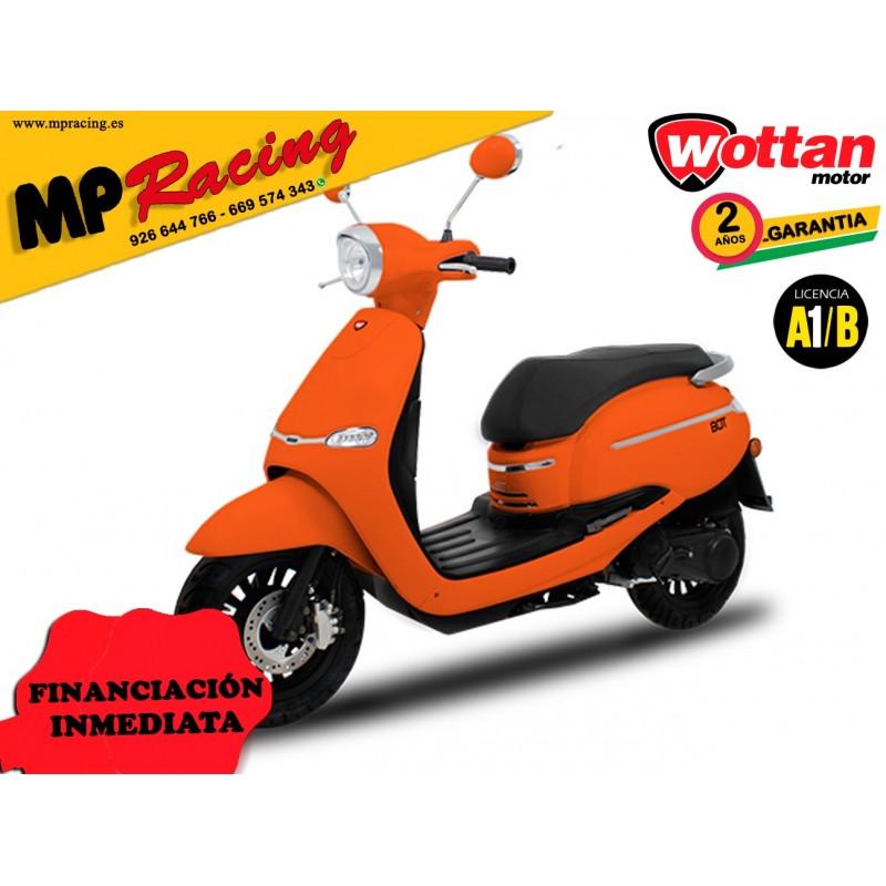 MOTO WOTTAN MOTOR BOT 125 CC NARANJA MP