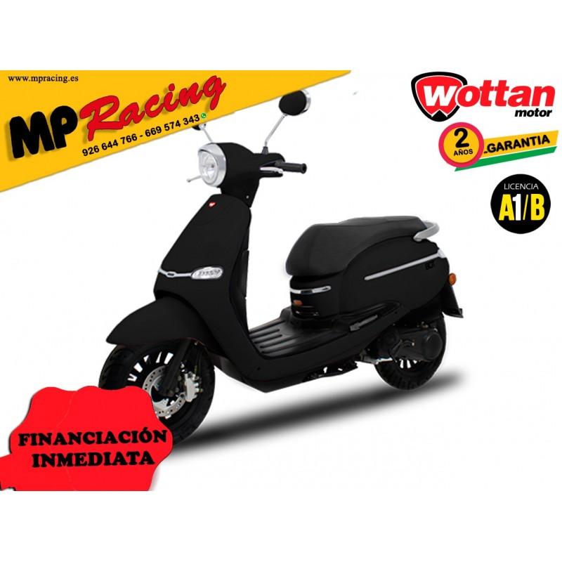 MOTO WOTTAN MOTOR BOT 125 CC NEGRA MP