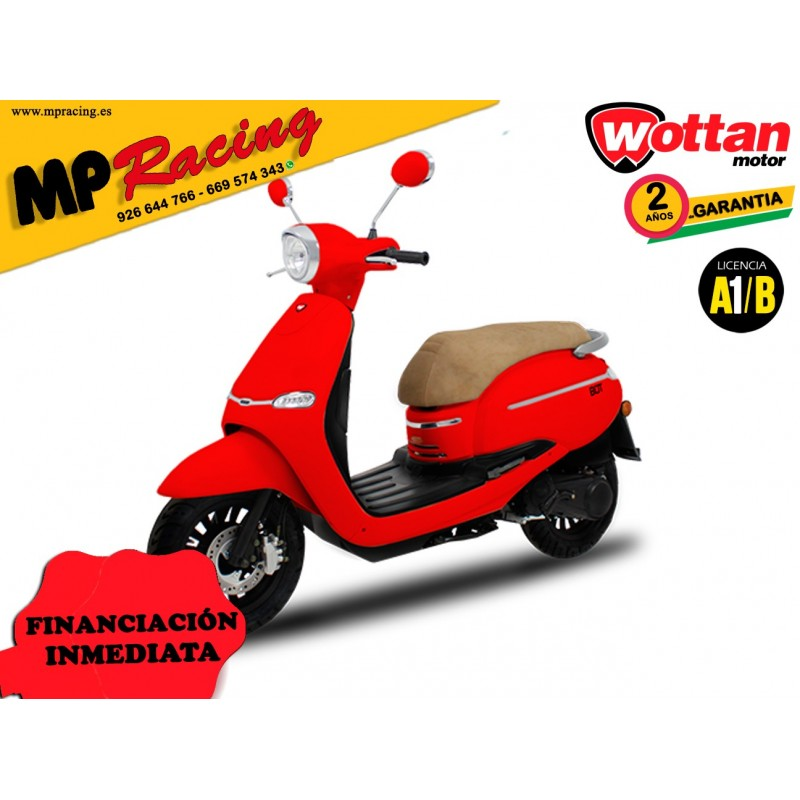 MOTO WOTTAN MOTOR BOT 125 CC ROJA MP