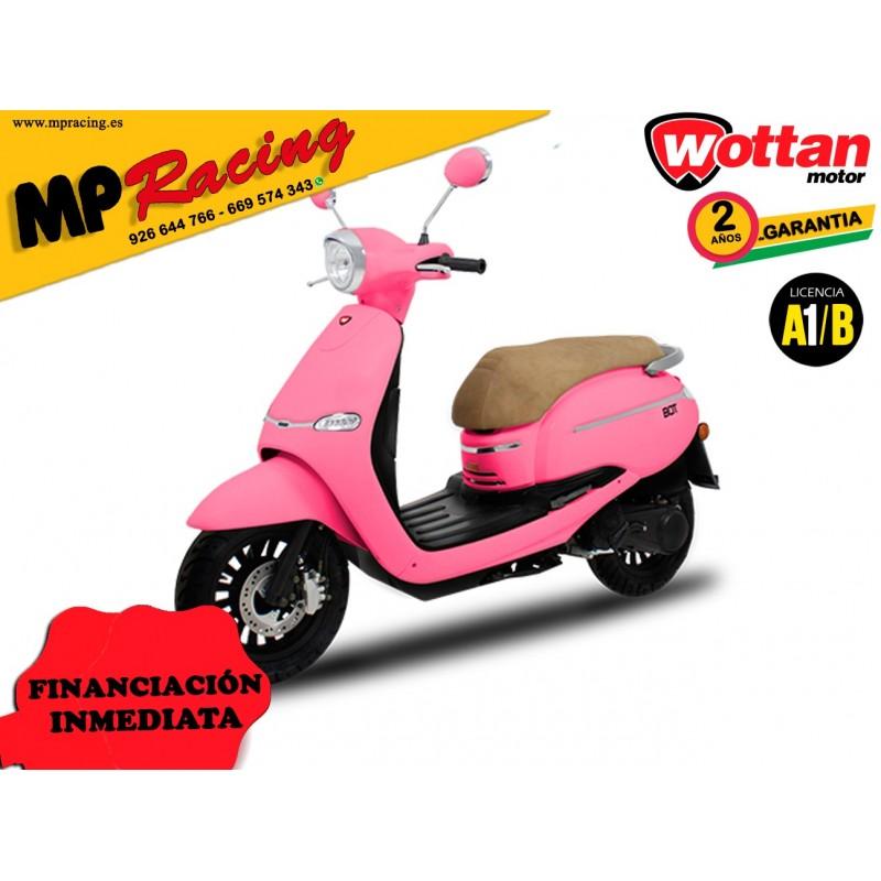MOTO WOTTAN MOTOR BOT 125 CC ROSA MP