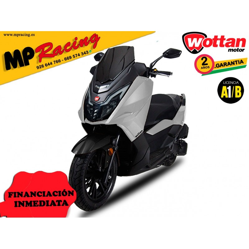 MOTO WOTTAN MOTOR STORM-T BLANCO MP