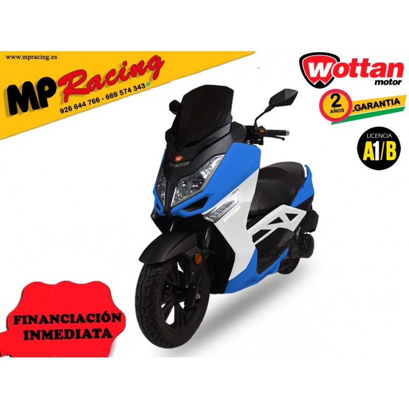 MOTO STORM WOTTAN MOTOR AZUL MP