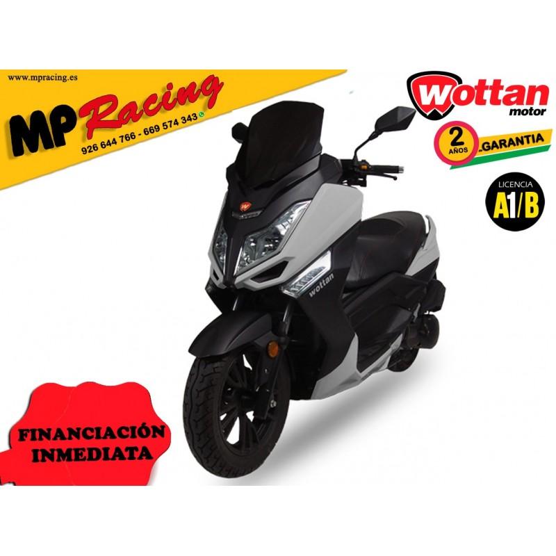 MOTO STORM WOTTAN MOTOR GRIS PLATA MP
