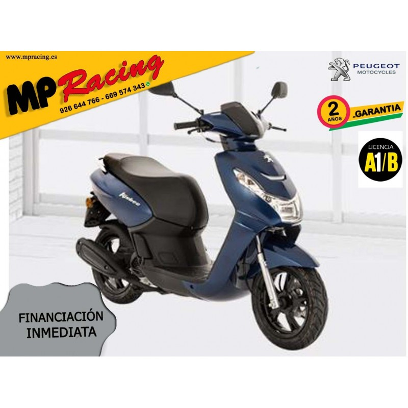 SCOOTER PEUGEOT KISBEE 2T ACTIVE 50cc AZUL MP