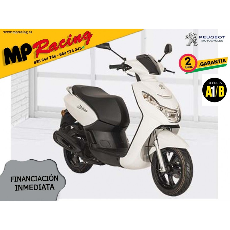 SCOOTER PEUGEOT KISBEE 2T ACTIVE 50cc BLANCA MP