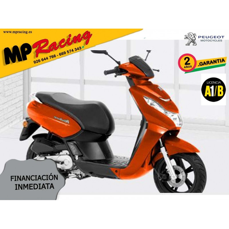 SCOOTER PEUGEOT KISBEE 2T ACTIVE 50cc NARANJA MP