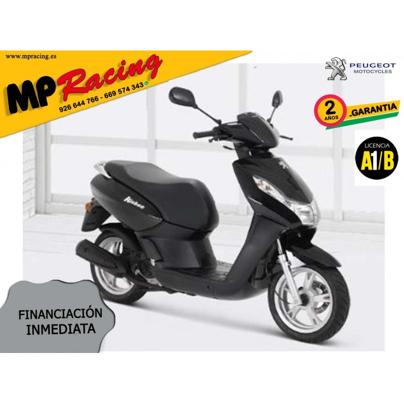 SCOOTER PEUGEOT KISBEE 2T ACTIVE 50cc NEGRO MP