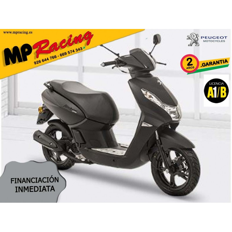 SCOOTER PEUGEOT KISBEE 2T BLACK EDITION 50cc MP