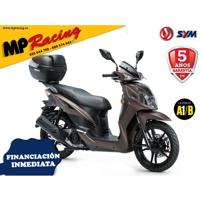 SYMPHONY 125cc SR TOP MARRON MP