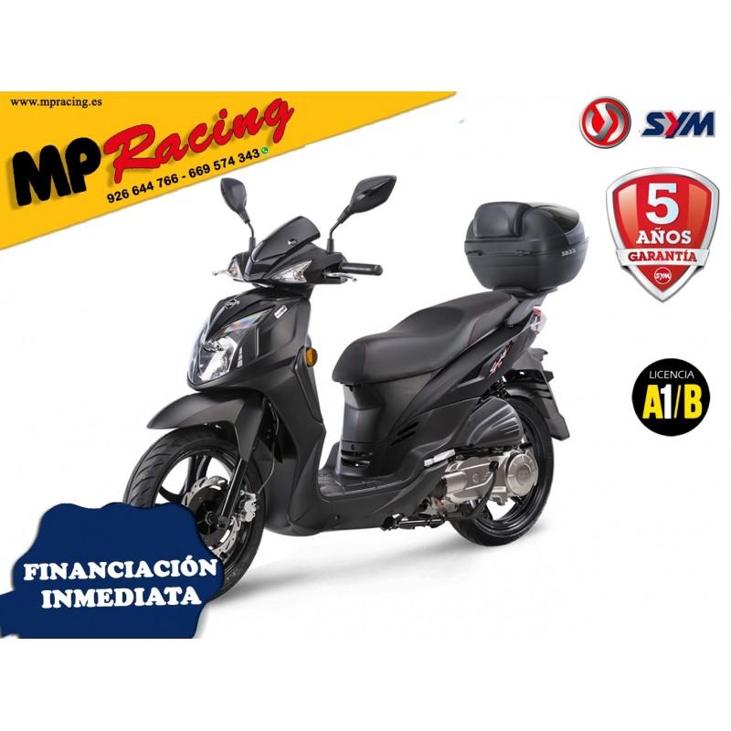 SYMPHONY 125cc SR TOP NEGRO MP