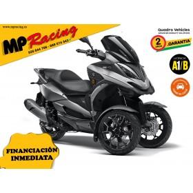 MOTO TRES RUEDAS QV3 GRIS MP