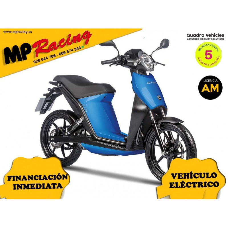 MOTO ELECTRICA OXYGEN DE QUADRO VEHICLES AZUL OSCURO MP