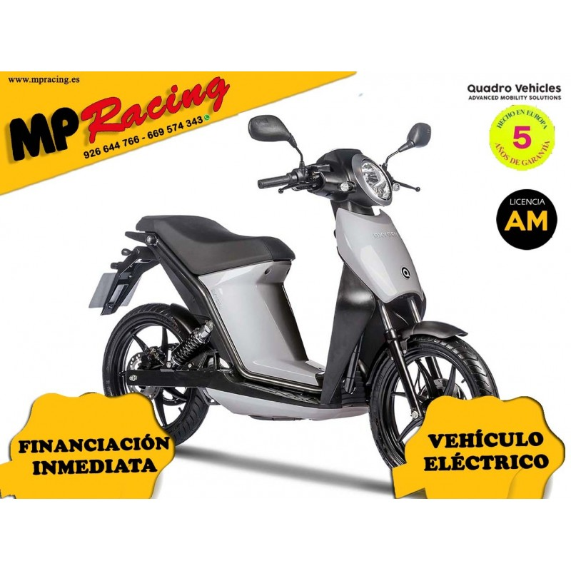 MOTO ELECTRICA OXYGEN DE QUADRO VEHICLES GRIS MP