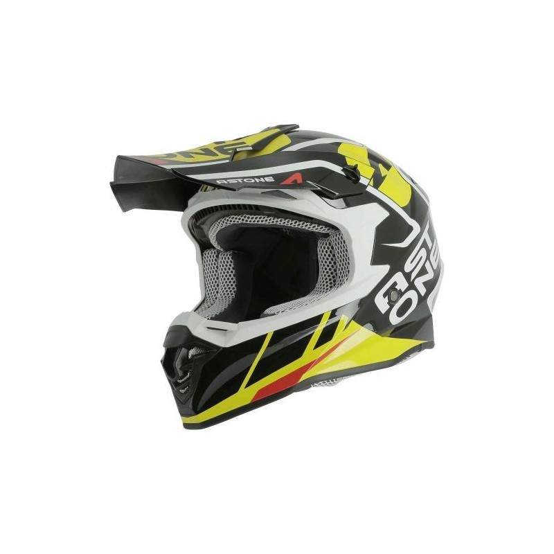 CASCO ASTONE MX800 TROPHY BLACK