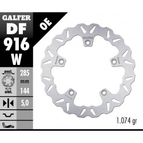 DISC WAVE FIXED 285x5mm