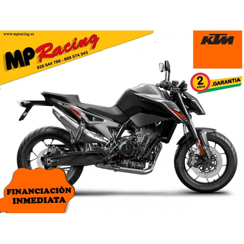 MOTO KTM NAKED 790 DUKE NARANJA MP