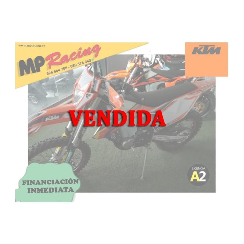 KTM 450 EXC-F AÑO 2018....