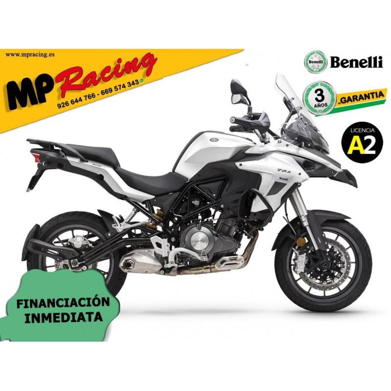 BENELLI TRK 502 2020 CON MALETAS BLANCO MP