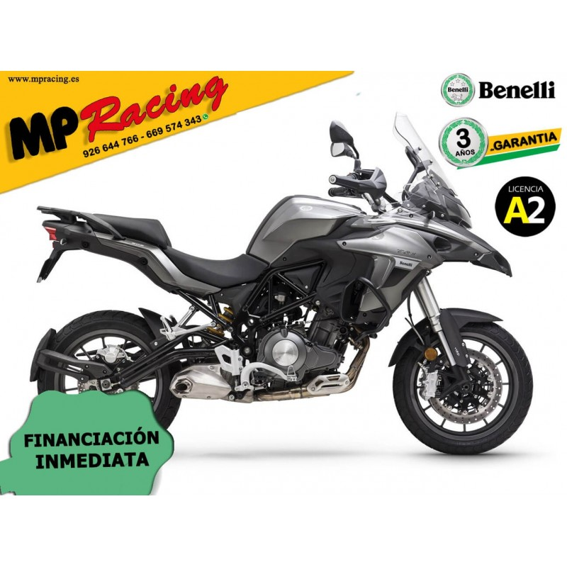 BENELLI TRK 502 2020 CON MALETAS GRIS MP