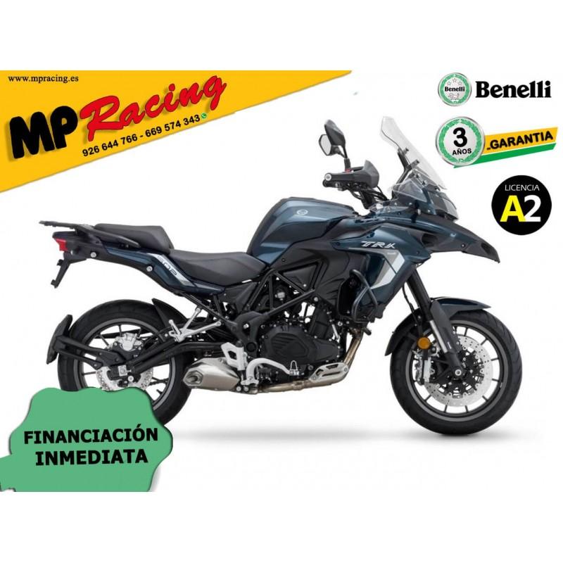 BENELLI TRK 502 CON MALETAS 2020 AZUL MP