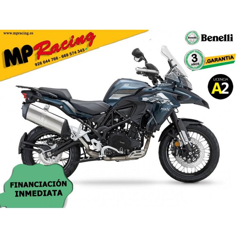 BENELLI TRK 502X 2020 CON KIT MALETAS BENELLI AZUL MP